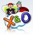 X & O scratch game icon
