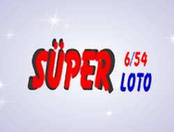 Turkey Super Loto 6/54 logo.Buy this lotto game tickets online.