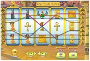 Egyptian magic video slot game