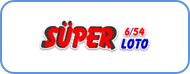 Turkey 6/54 Super Lotto logo