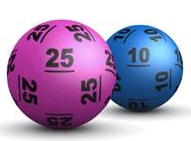 Lotto balls. Lottery games online.
