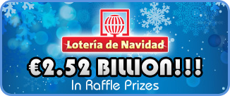 The Spanish Christmas Lottery promise  €2.52 billion in prizes