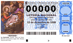 Spain El Gordo Christmas Lottery 2008