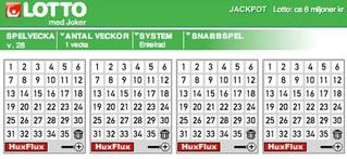 Sverige Lotto