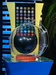 South Africa Powerball Draw Machine.