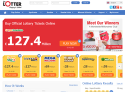 theLotter official lottery tickets agent website picture